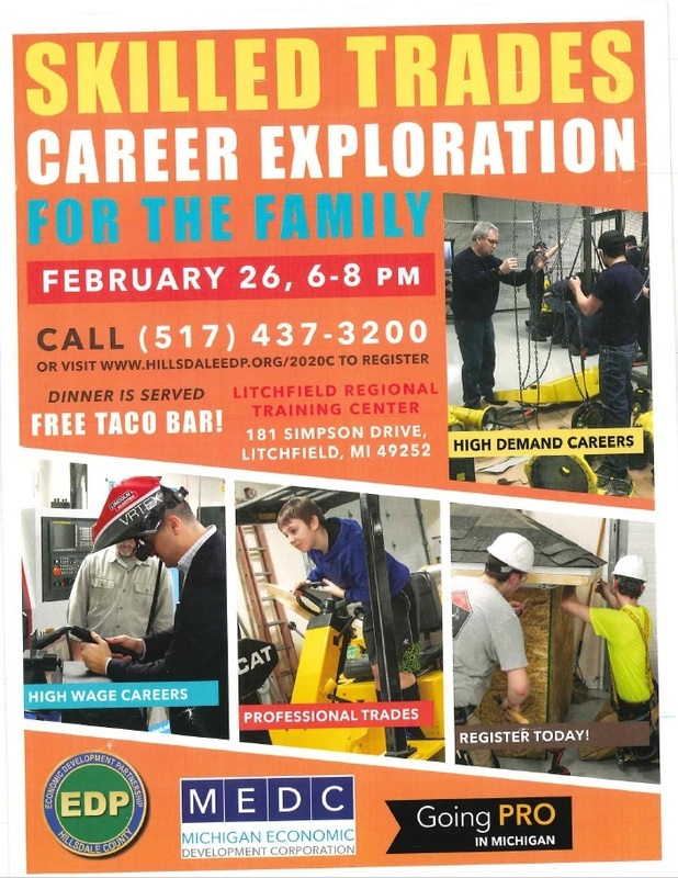 Family Skilled Trades Career Night